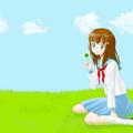 写真: clover_girl_1600x1200