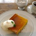 写真: 南瓜チーズケーキ