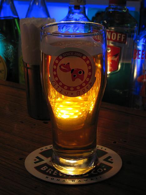 Beer Bar にて