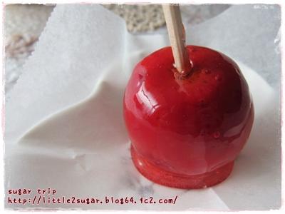 姫りんごのりんご飴