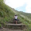 2歳の時の山登り 曽爾高原