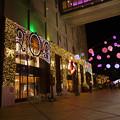 写真: 小倉井筒屋のクリスマスイルミ2013(1)