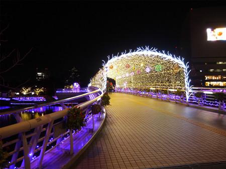 小倉・紫川のクリスマスイルミ2013(6)