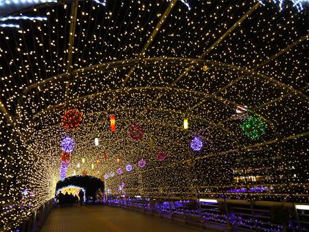 小倉・紫川のクリスマスイルミ2013(5)