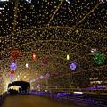 写真: 小倉・紫川のクリスマスイルミ2013(5)