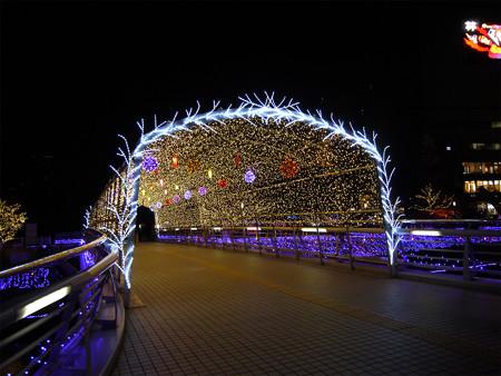 小倉・紫川のクリスマスイルミ2013(4)