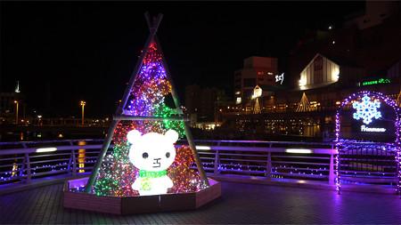 小倉・紫川のクリスマスイルミ2013(3)