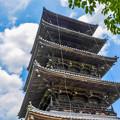 写真: 国分寺の青空