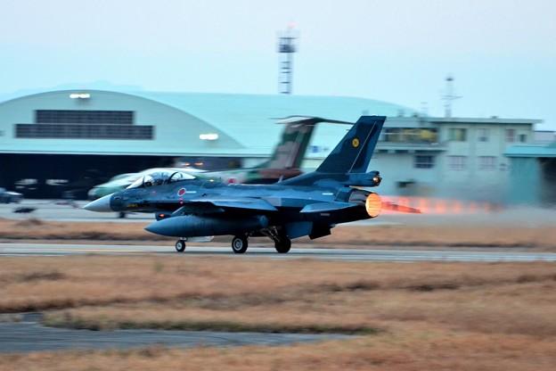 築城基地夜間訓練 F-2