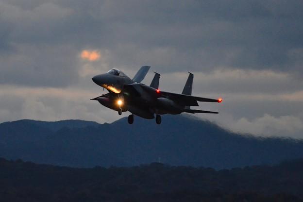 築城基地夜間訓練 F-15J