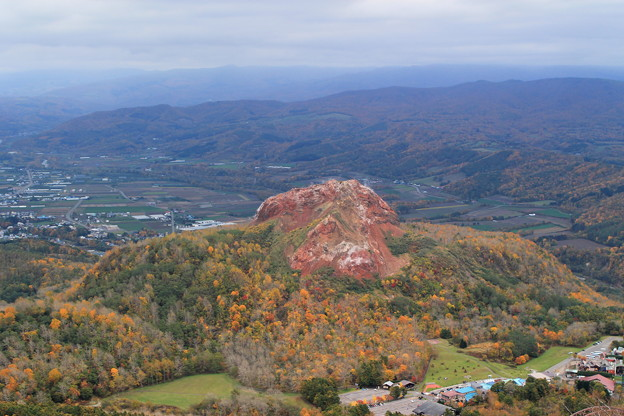 有珠山からの景色1