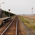 写真: 富良野無人駅