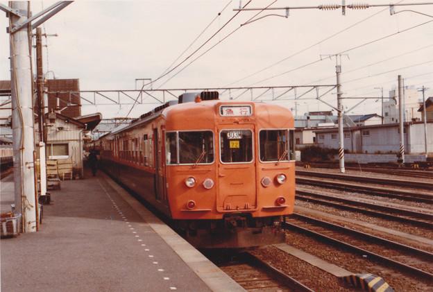銚子駅の153系