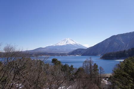本栖湖の富士@NEX-3