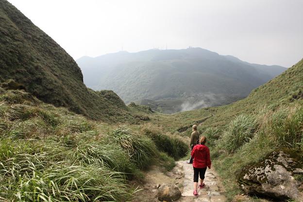 写真: IMG_0422台湾陽明山_海芋祭と七星山登山