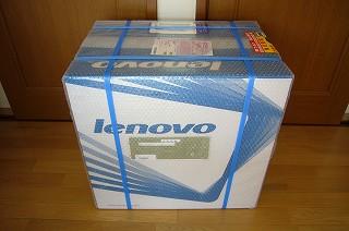 121101-1 Lenovoのデスクトップパソコン