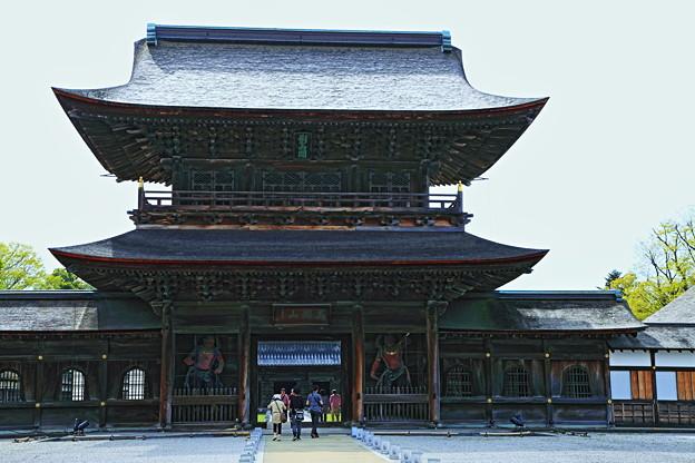 瑞龍寺 山門(国宝)