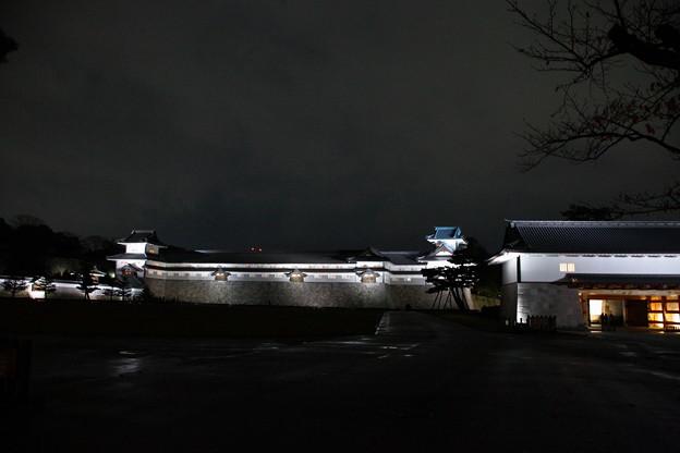 金沢城 河北門 ライトアップ