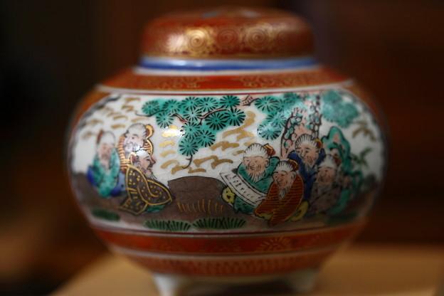 九谷焼 香炉(2)