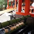 金沢神社 手水舎