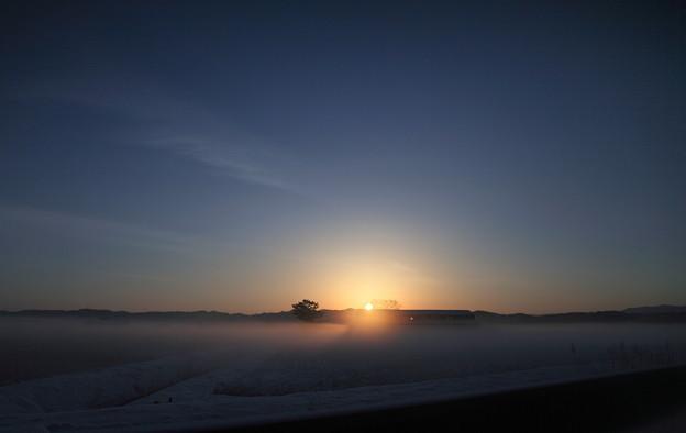 氷点下の日の出(2)