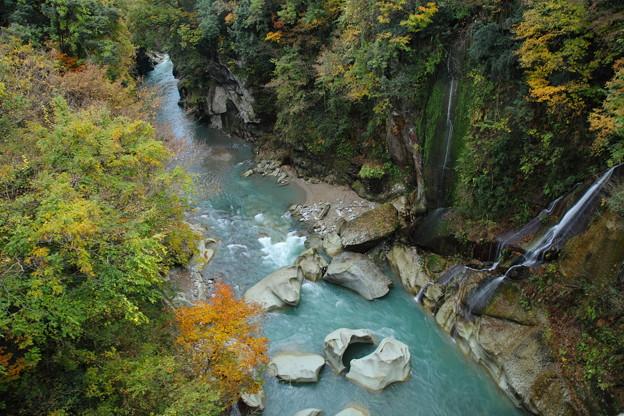 晩秋の手取峡谷(4)