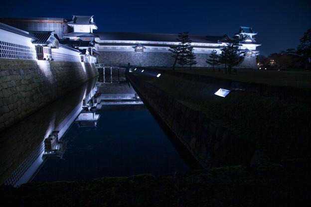 金沢城 ライトアップ(1)