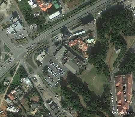 Google Earth自動傾斜無効画
