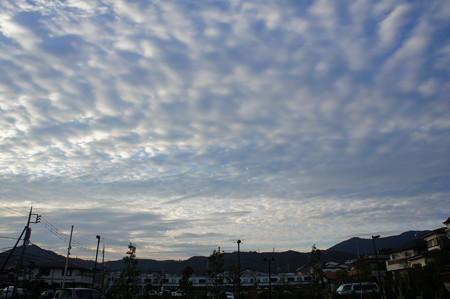 小田急と秋の空