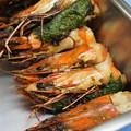 写真: 海老味噌と醤油と紫蘇の香り