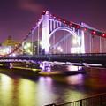 夜の清洲橋