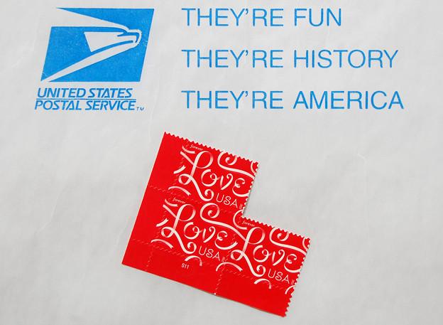 US切手LOVE