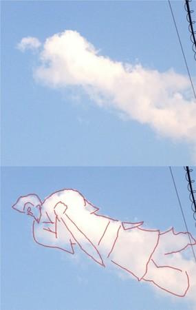 空飛ぶ武人