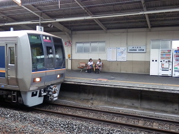 河内磐船駅の写真2