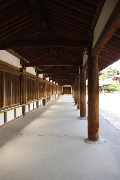 Photos: 法隆寺、廻廊