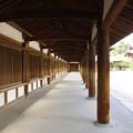写真: 法隆寺、廻廊