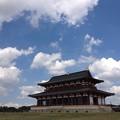 写真: 第一次平城宮大極殿