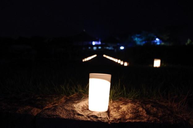 飛鳥光の回廊2013 入鹿の首塚~飛鳥寺