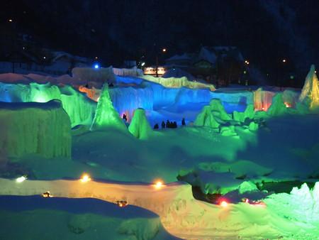 氷瀑祭り全体