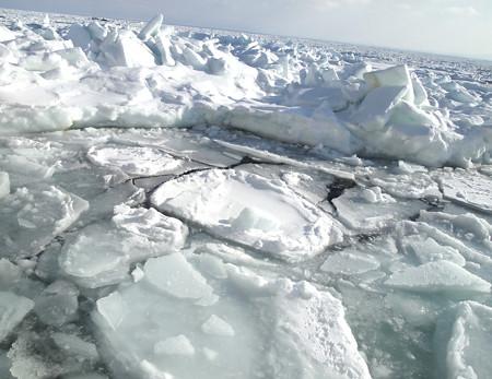 10.大きな流氷
