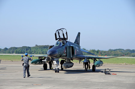 RF4EJ 着陸3