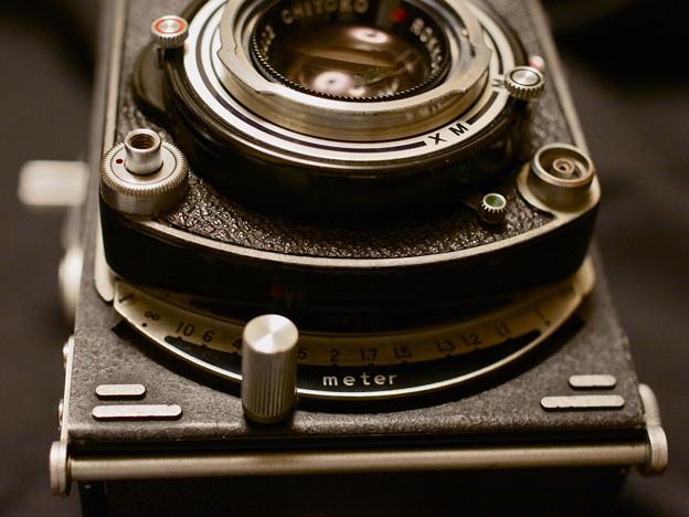 写真: 距離計