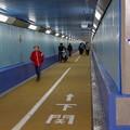 Photos: 下関に向かって。。。関門海峡を渡る海底トンネル