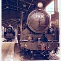昔風な。。SL達・・門司港九州鉄道記念館