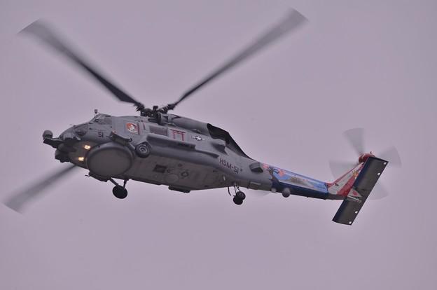 海洋戦闘飛行ヘリHSM-51 MH-60ロミオ・・20130501
