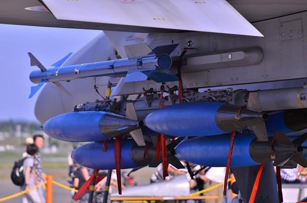 F-15のウエポンシステム・・・フル装備