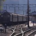 Photos: SLとの連結を待つ風景 大井川鉄道新金谷駅・・・20131123