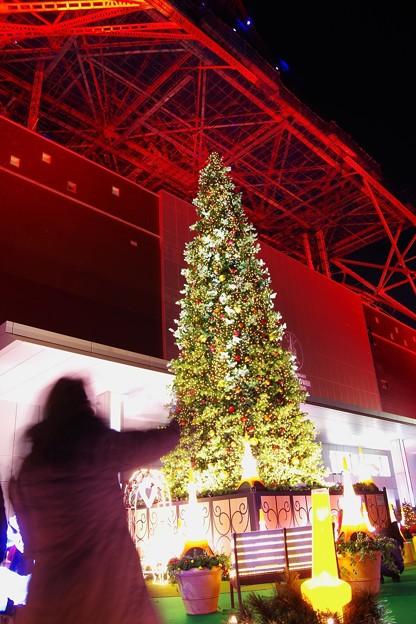 東京タワーのクリスマスツリーイルミネーション2013・・20131222