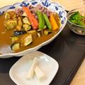 古代米と平群の野菜のアスカカレー(道の駅・大和路へぐり【奈良】)
