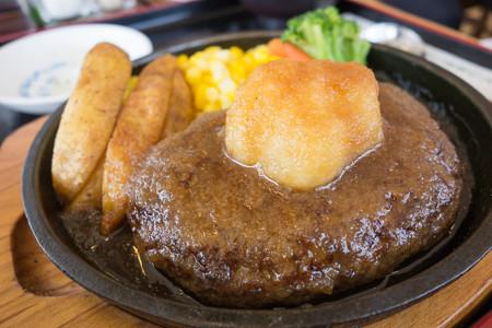 ジャージー牛ハンバーグ御膳(米子道【下り】・蒜山高原SA)・2